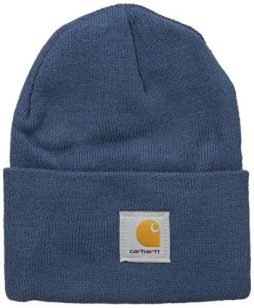 Carhartt Men's Acrylic Watch Hat A18, Dark Blue, One Size