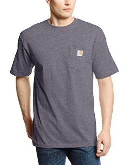 Carhartt Men's 'K87' Workwear Pocket Short-Sleeve T-Shirt, Carbon Heather, X-Large