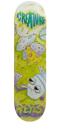 14f34987d6e8f8 Creature Reyes Not Real Pro Skateboard Deck - 8.25