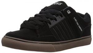 DVS Men's Celsius CT Skate Shoe, Black Nubuck, 11.5 Medium US