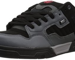 DVS Men's Enduro Heir Skate Shoe, Charcoal Black Nubuck, 14 Medium US