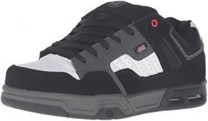 DVS Men's Enduro Heir Skateboarding Shoe, Black/Red/Grey, 13 M US