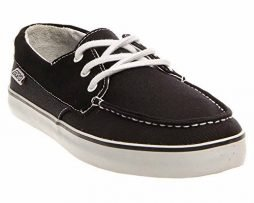 DVS Men's Seanile Skate Shoe,Black,12 M US