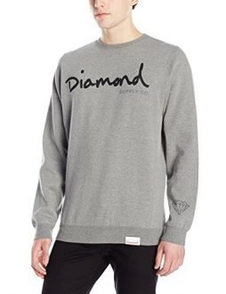 Diamond Supply Co. Men's Og Script Crewneck Sweater