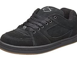eS Men's Accel OG Skate Shoe, Black, 12 Medium US
