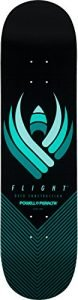 "Powell-Peralta Flight Skateboard Deck Shape 244 8.5"", Black"