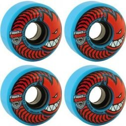 Spitfire Wheels 80 HD Charger Classic Blue / Red Skateboard Wheels – 56mm 80d (Set of 4)