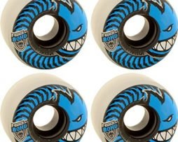 Spitfire Wheels 80HD Charger Conical Clear / Blue Skateboard Wheels - 54mm 80d (Set of 4)