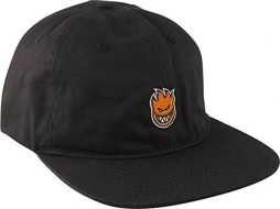 Spitfire Wheels Lil Bighead Black / Orange Snapback Hat – Adjustable