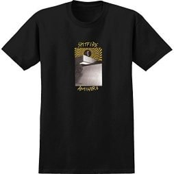 Spitfire Wheels x Anti Hero Cardiel Car Wash Black Men's Short Sleeve T-Shirt – X-Large