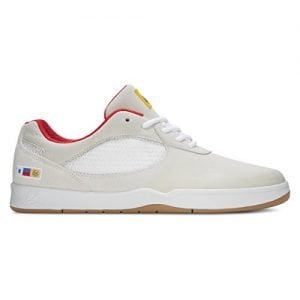ES Men Swift White Red Shoes Size 9.5
