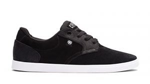 C1RCA Men's JC01 Skate Shoe, Black/White, 7 M US