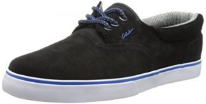 C1RCA Valeo SE Skate Shoe, Black/Regal, 12 M US