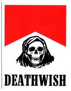 Deathwish Skateboard Sticker - Flavour Country - 8cm high approx. skate snow surf board bmx guitar ipad