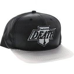 Deathwish Skateboards Death Kings Black / Grey Snapback Hat – Adjustable