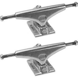 Krux Trucks K4 5.0″ Silver Skateboard Trucks – 7.6″ Axle (Set of 2)