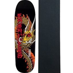 Powell-Peralta Skateboard Deck Caballero Cab Ban This Black RE-Issue w/Grip