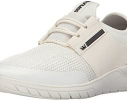 SUPRA Flow Run Skate Shoe, Off White-Off White, 10 Regular US