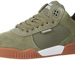 Supra Mens 2017 Ellington Shoes Size 10 Olive - White