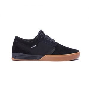 Supra Men's Hammer Black/Gum Athletic Shoe