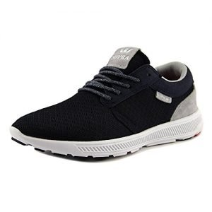 Supra Mens Hammer Run Shoes Size 11 Navy - White
