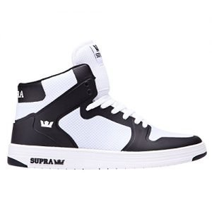 Supra Mens Vaider 2.0 Shoes Size 8 White - Black