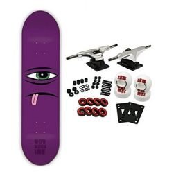 TOY MACHINE Complete Pro Skateboard SECT FACE PURPLE 8.0