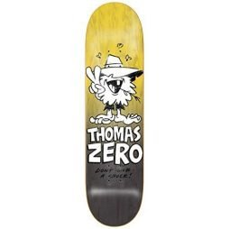 Zero Jamie Thomas Don't Give A Shuck 8.125″ x 32″ Skateboard Deck