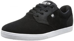 C1RCA Men's JC01 Skate Shoe, Black/White, 12 M US