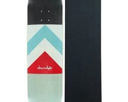 """Chocolate Skateboard Deck Tershy Battle Flag 8.5"""" With Pro Grip"""