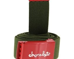 Chocolate Skateboards Red Square Stretch Green Belt