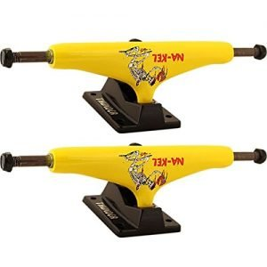 "Thunder Trucks Nakel Smith Takeover Yellow / Black Skateboard Trucks - 149mm Hanger 8.5"" Axle (Set of 2)"