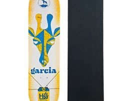 "HABITAT Skateboard Deck GARCIA HORNED BEAST 8.25"" with GRIPTAPE"