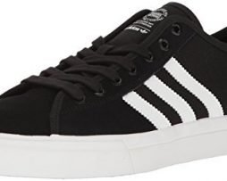 adidas Originals Men's Matchcourt RX Shoes, Core Black/White/Core Black, (9.5 M US)