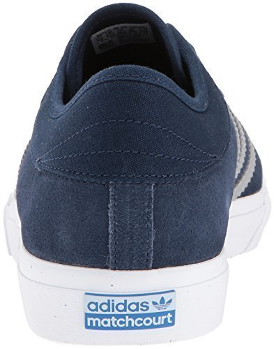 adidas Originals Men's Matchcourt Sneaker, Collegiate Navy/Medium Solid Grey/Gum, 11 Medium US