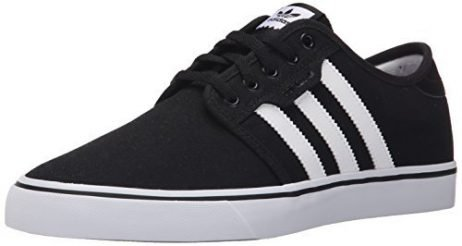 Adidas Men's Seeley Skate Shoe,Black/White/Gum,11 M US