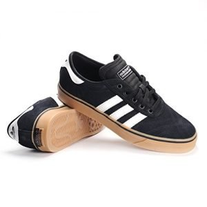 adidas Originals Men's Shoes | Adi-Ease Premiere Fashion Sneakers, Black/White/Gum, (11.5 M US)