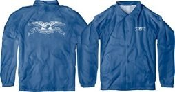 Anti Hero Skateboards Basic Eagle Double Windbreaker Royal / White Youth Jacket - Youth Medium