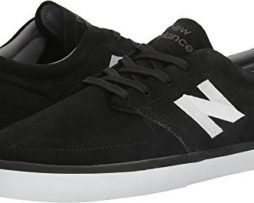 New Balance Men's NM345BW, Black/Whit, 10 D US