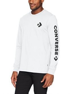 Converse Men's Star Chevron Wordmark Long Sleeve T-Shirt