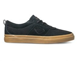 Diamond Supply Co Icon Skateboard Shoes (10.5, Black/Gum)