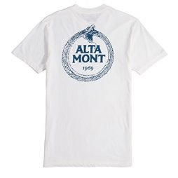 ALTAMONT Snake T-Shirt - Dirty White