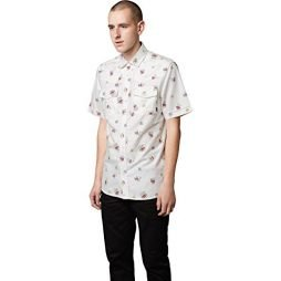 ALTAMONT Mens Chelsea Woven Button up Short-Sleeve Shirt