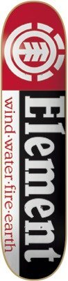 Element Skateboards Section Skateboard Deck – Thriftwood Construction – 7.75″ x 31.5″