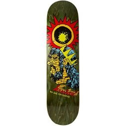 Krooked Worrest No Sub Skateboard Deck – 8.12″