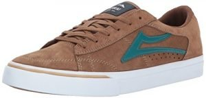 Lakai Ellis Skate Shoe, Walnut Suede, 9 M US