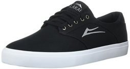 Lakai Men's Porter Skate Shoe, Black Canvas, 5 M US