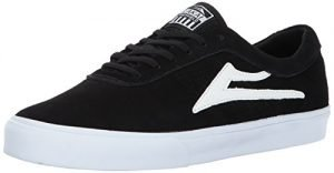 Lakai Sheffield Skate Shoe, Black Suede, 13 M US