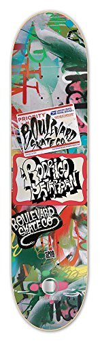 Blvd Skateboards Locals Rodrigo Peterson Skateboard Deck