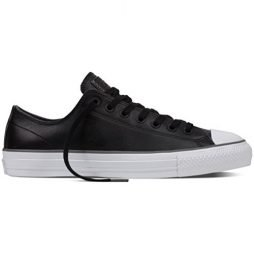 Converse Cons CTAS Pro Low Top Leather Size 7.5 Black/White